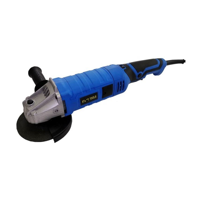 "Kaqi-9125 5"" Angle grinder 1050W Adjustable speed electric grinding machine long handle 125mm grinder"