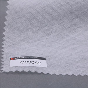 PVA cold water soluble nonwoven interlining fabric Water dissolving paper