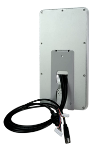 8 inch face recognition device with IC / ID card access control