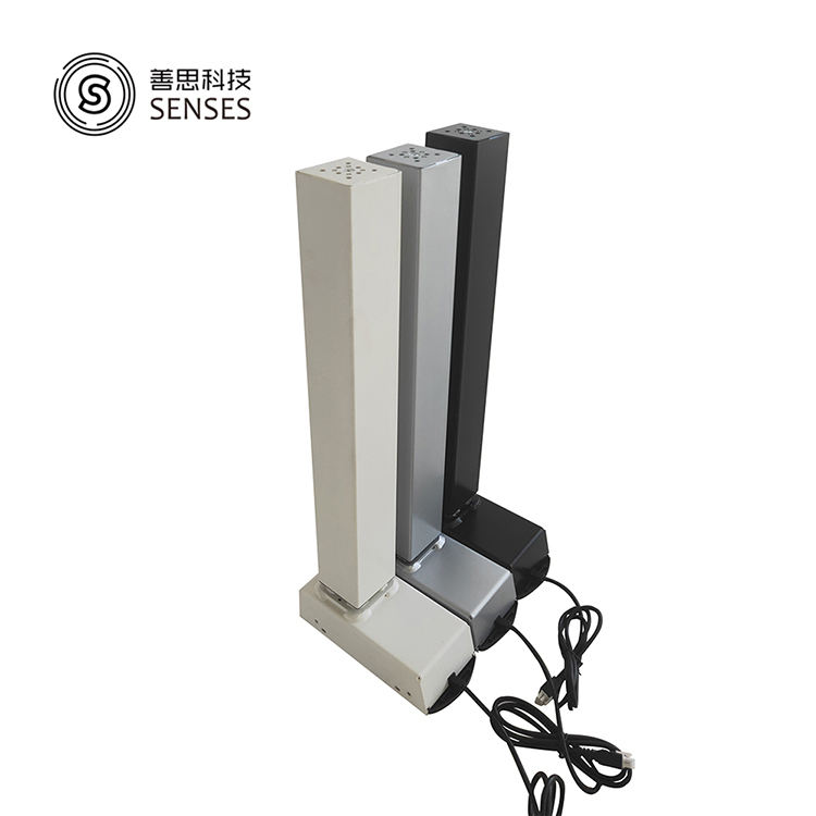 Three-stage lifting column leg lifting desk actuator for sit stand desk adjustable electric height table frame