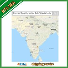 Chennai/Nhava Sheva/New Delhi/Calcutta/India RTS sea freight shipping agent Arun