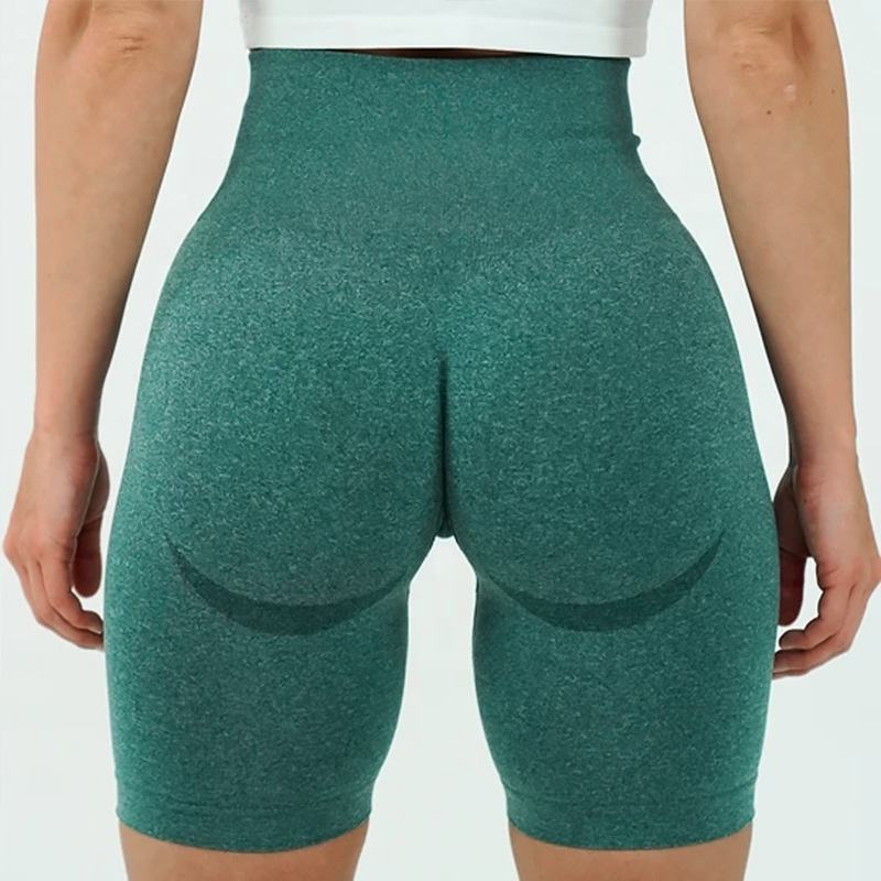 New Product High Waisted Compression Seamless Fitness Short Pant Gym short Legging Yoga Shorts