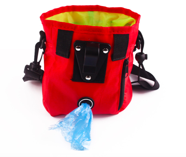 Pet Training Bag Pouch Dog Treat Bags Portable Detachable Doggie Feed Large Pocket Puppy Snack Reward interactive Waist Bag