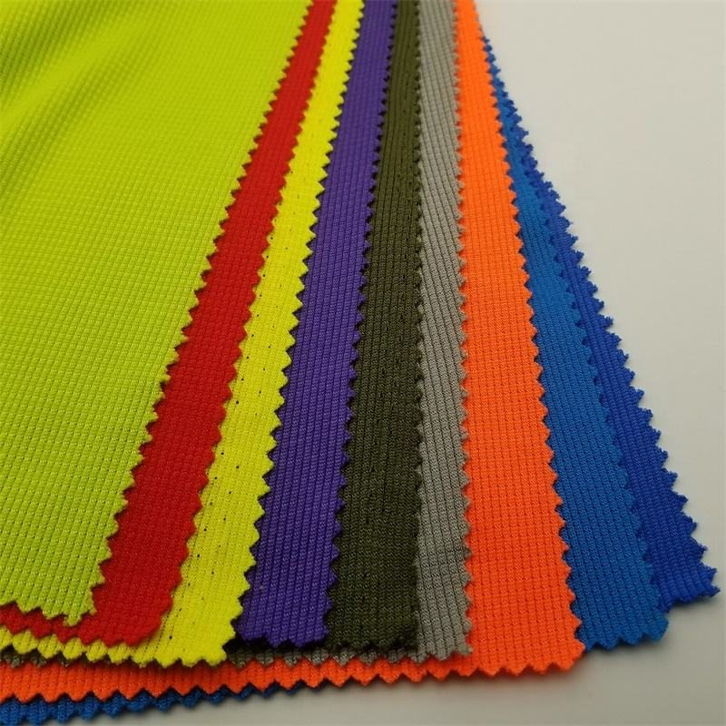 polyester jacquard knitted fabric use for sport shoe