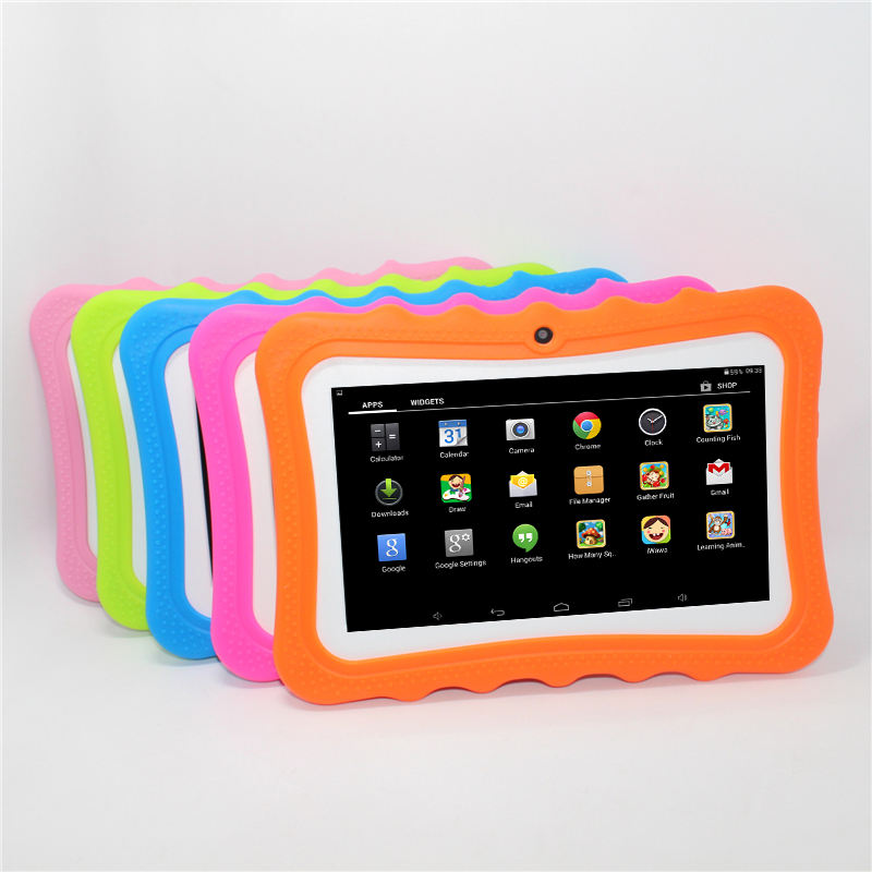 top sellers kids 7inch cartoon educational tablet pc fire 7 kids edition tablet 7 android 9.0