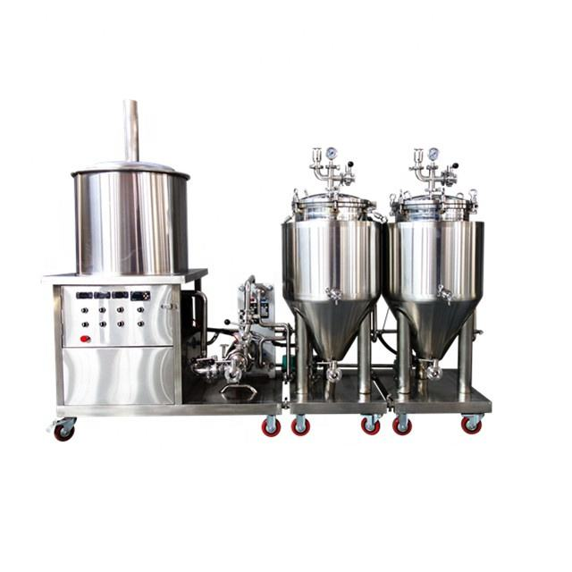 50l- 100l home brewing system mini beer brewing system micro brewing equipment