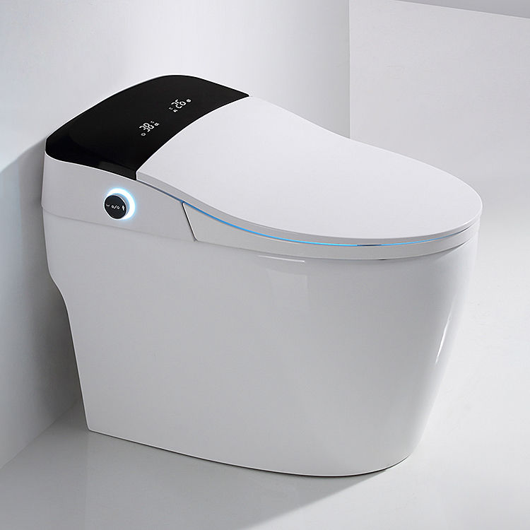 Full funtion modern sanitary ware heated automatic sensor flush wc water closet electronic intelligent smart toilet with bidet