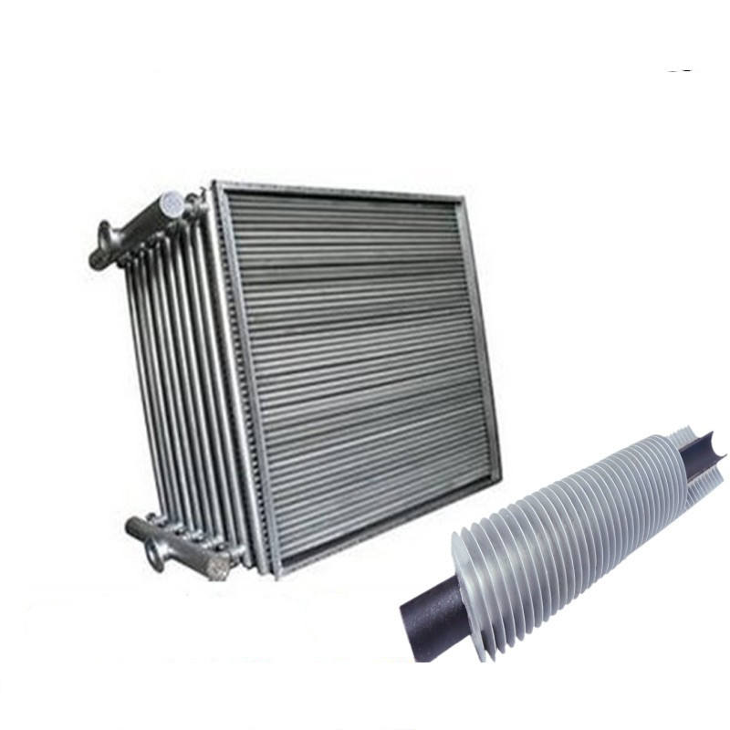 10kw stainless steel finned tube heat exchanger