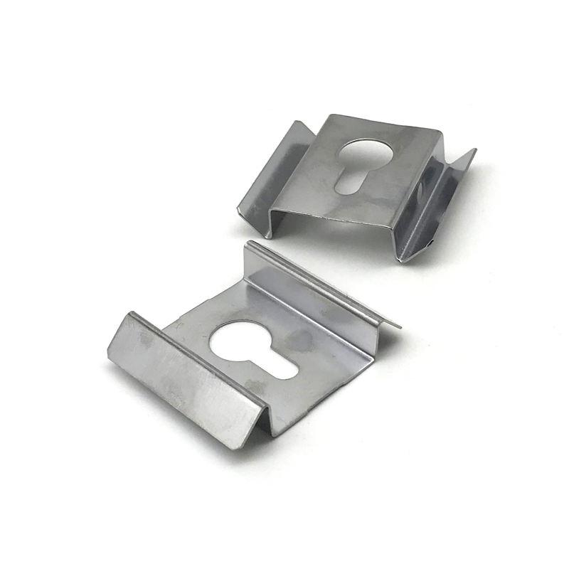 Removable Sheet Metal Fabrication Black Zinc Plated Shelf Bracket