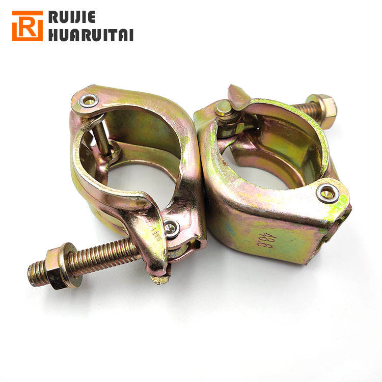 China metal scaffolding Scaffolding Scaffold Prop Swivel Couplers Coupler Clamps Parts Fittings