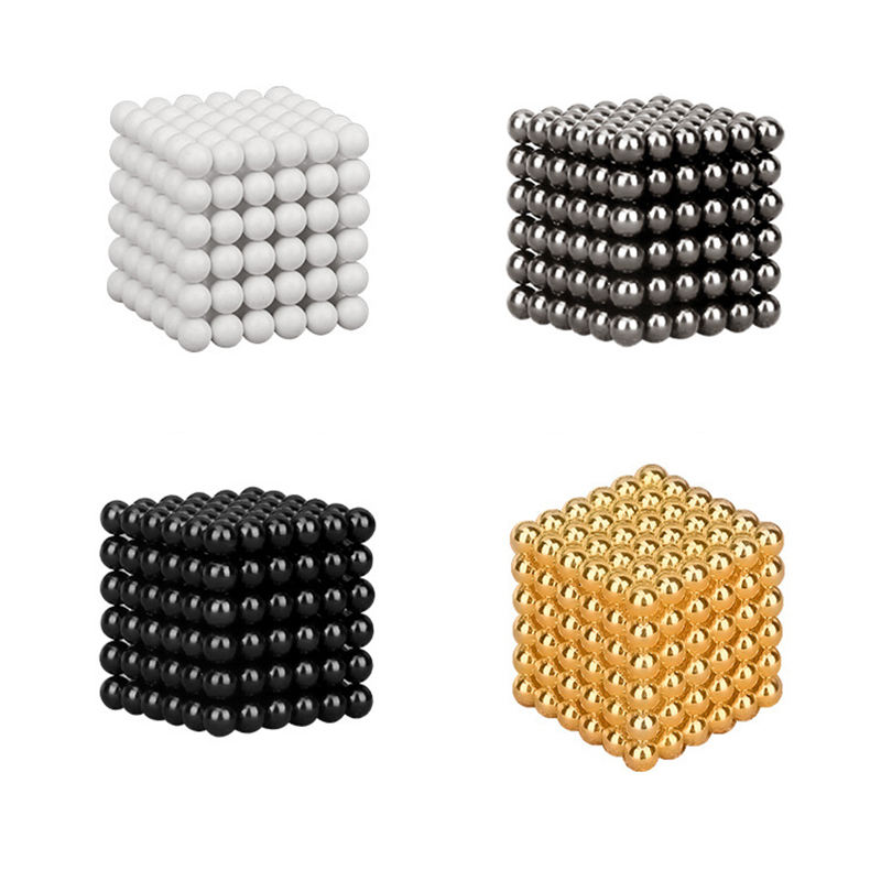 Magnetic Ball 3Mm 5Mm 8Mm 10Mm Neodymium And Magnets Toy With 125 216 512 1000pcs Bucky Balls