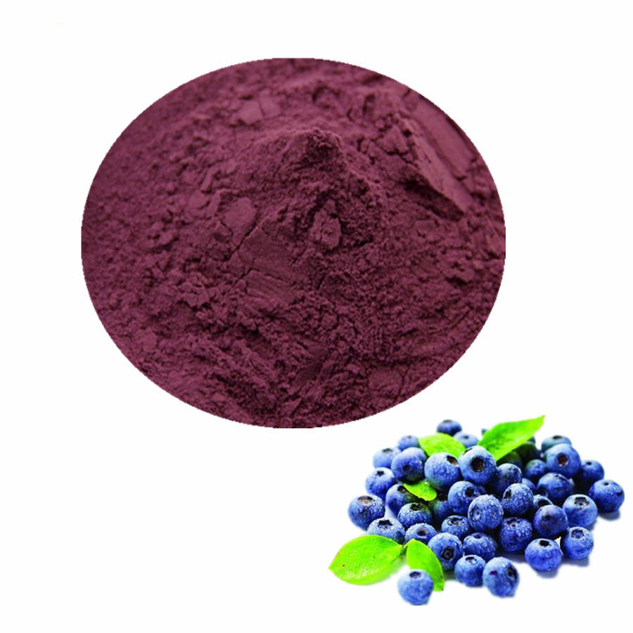 Pure Natural Plant Anthocyanidin P.e Bilberry Extract 25% Anthocyanin