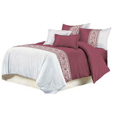 Elegant Design Jacquard Bedding Set Sheets Microfiber/Polyester Fabric Duvet Cover Set 3 pieces