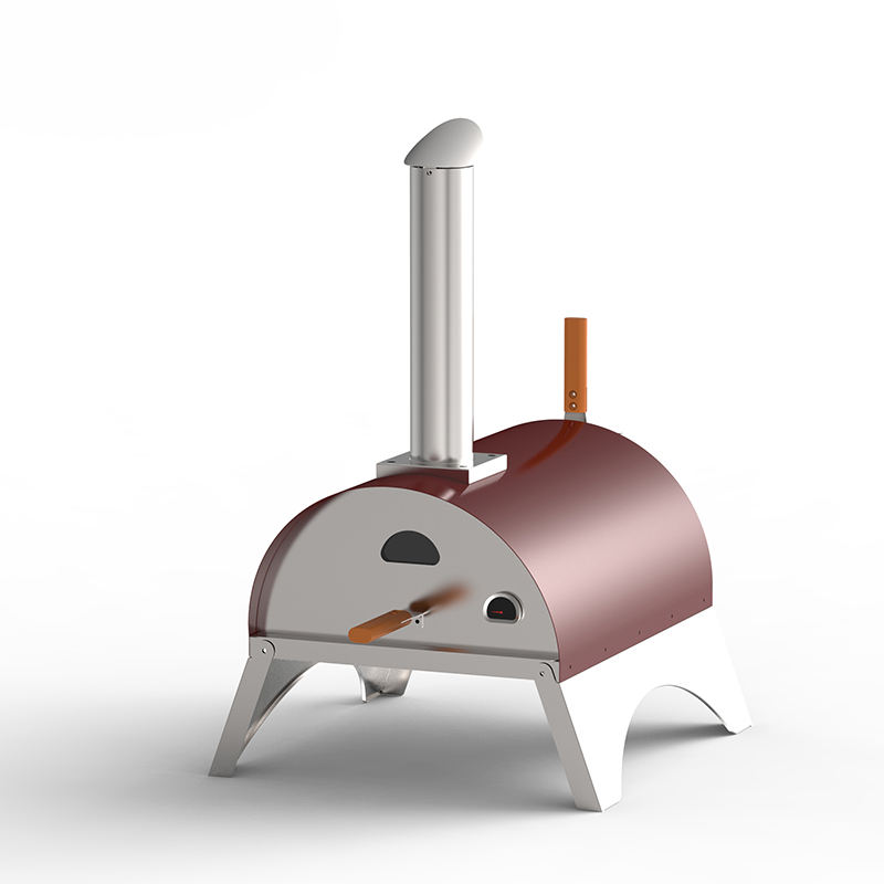 Modern Commercial Hot Sale Stainless Steel Outdoor Wood Fired Pizza Oven