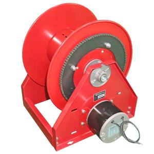 China 100m water reel set industrial power hose reel with swivel joint