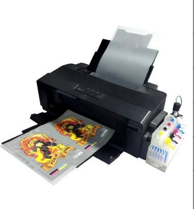 Fcolor Nieuwe Diy T-shirt Drukmachine A3 + A3 Huisdier Film Transfer Dtf <span class=keywords><strong>Printer</strong></span> L1800