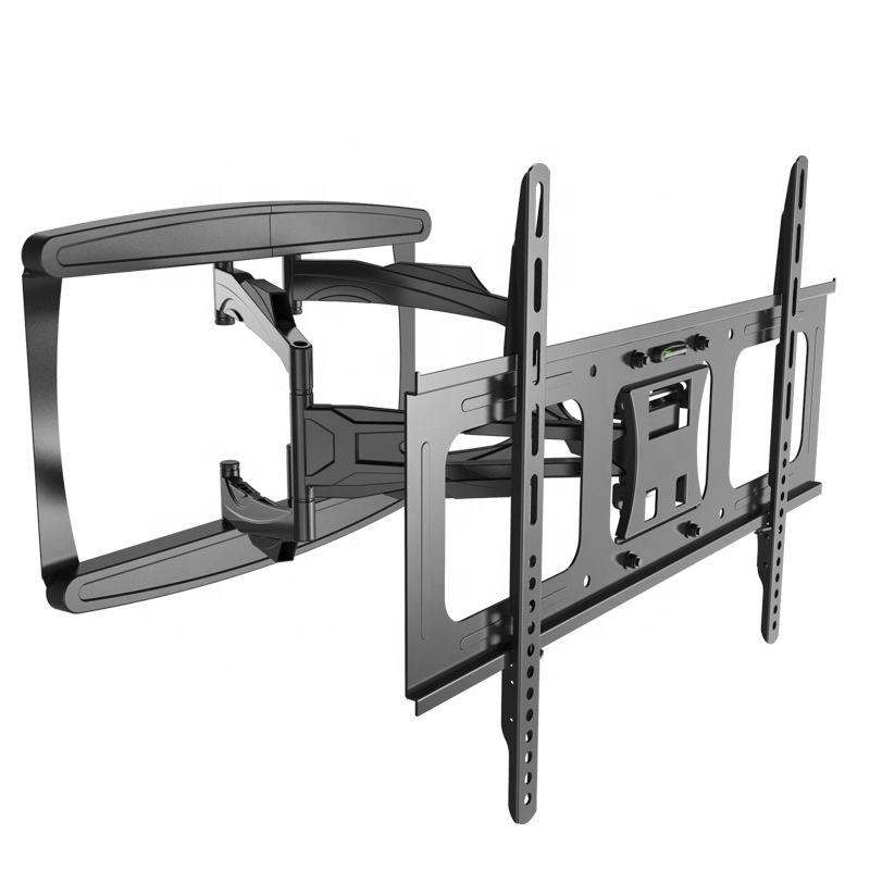 Large Tilting TV Wall Mount Bracket | 42 43 50 55 58 65 70 75 80 Inch | 220 Pound Capacity