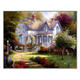 Landscape abstract cross stitch kit embroidery handicraft indoor home decoration painting gu jing ya ju cross stitch