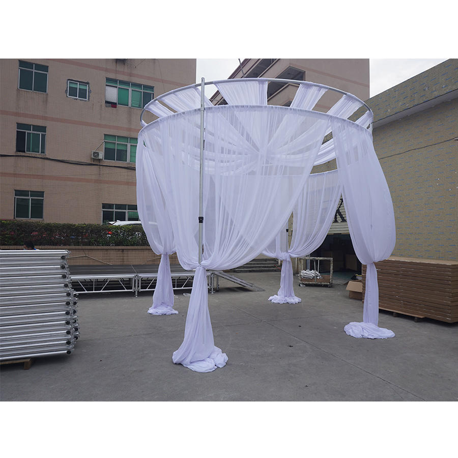 2020 New design Aluminum backdrop stand pipe drape,backdrop pipe and drape for indoor decoration