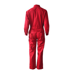 Red Overall Red Overalls For Men Customized Winter Safety Workwear Red Work Overall For Men