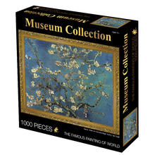 2020 Hot Selling DIY creativity world famous oil painting 1000pcs Jigsaw puzzle