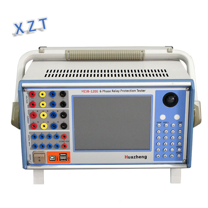 Selling well RoHS 6 phase relay protection Tester