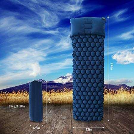 Хороший best низкая цена Спорт на открытом воздухе ТПУ материал надувные подушки Коврики Air кровать коврик для кемпинга с поду