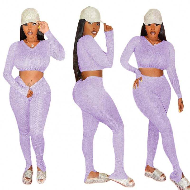 Women's Sexy Two Piece Jumpsuit louis vittion two piece set women clothing Leggings Two Piece Outfits