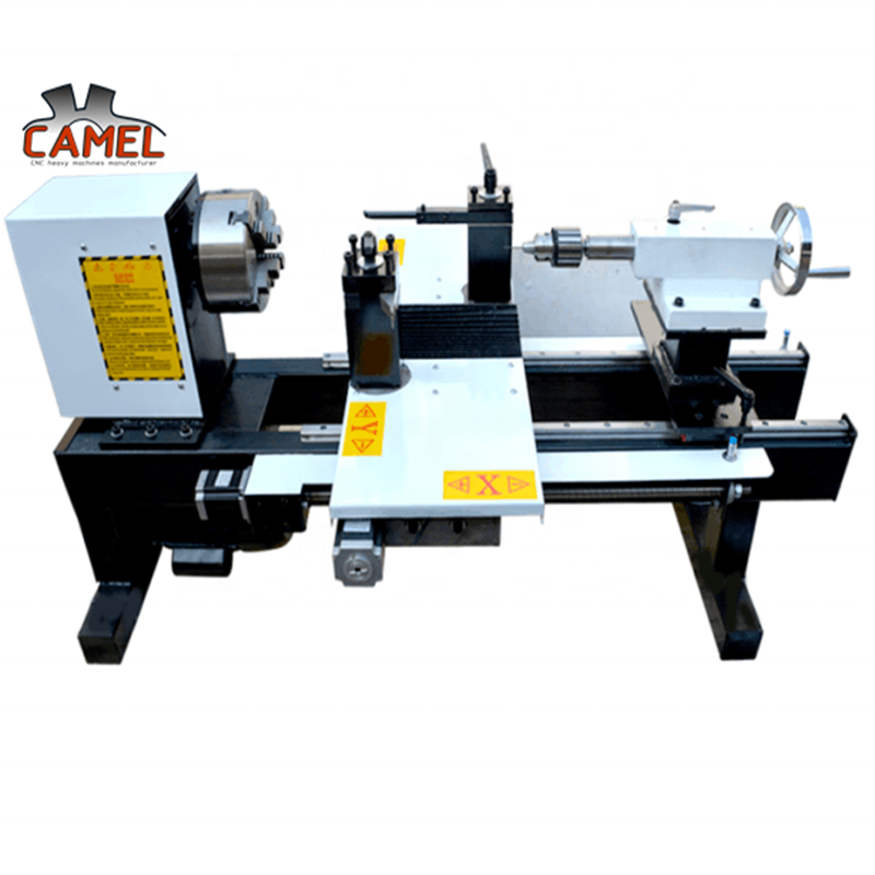 Factory Direct Supply Small Size CA-26 Mini Cnc Wood Lathe for wood bowls making