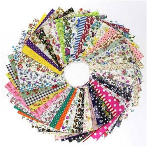 Cotton Fabric Pack Patchwork Bundle Fabrics Tilda Cloth Sewing DIY Handmade Materials FA