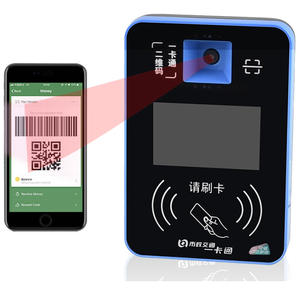 Paypass/PayWave/ค้นพบ/AMEX ETM Android BUS Card Reader QR Code Scanner