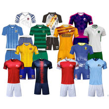 Wholesale China Sublimation Latest Designs Thai Quality Cheap Blank Soccer Jersey Football Shirt Team Wear Uniform