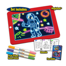 2019 children educational toys 3D LIghting Drawing Pad for kids
