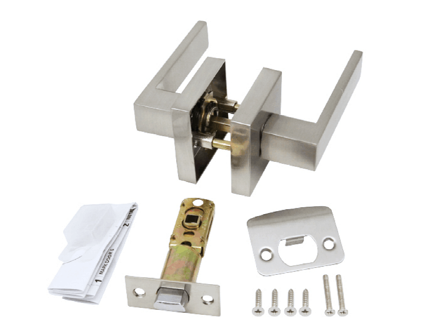 Heavy Duty ANSI G3 Zinc ALloy Square Door Handle Lock For USA Market