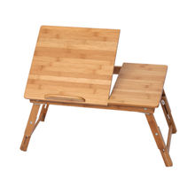 Breakfast Bed Bamboo Lap Tray Laptop Desk computer desk 100% solid bamboo