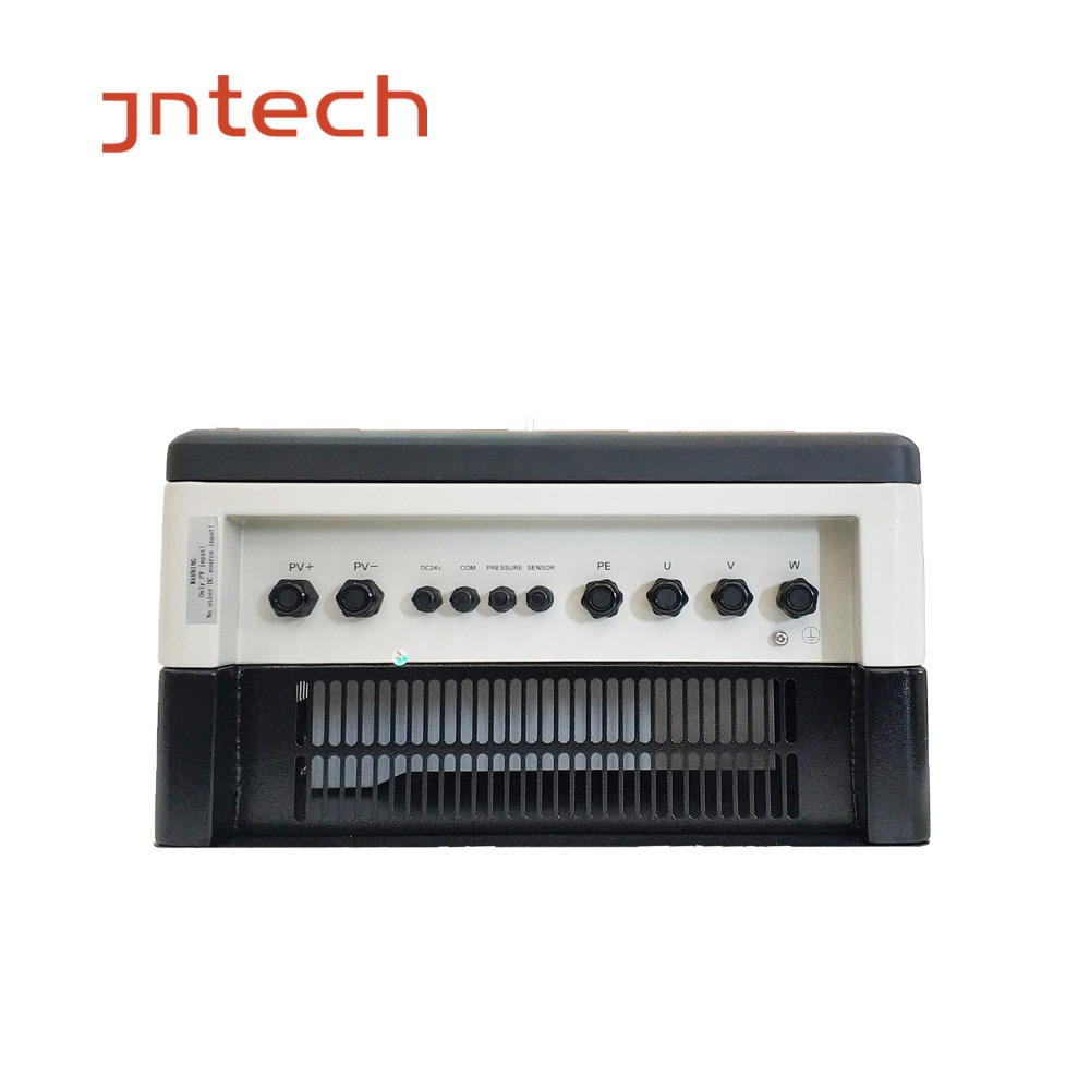 JNTECH 55KW/75HP hybrid solar pump inverter with 15years experience,high efficiency,reliable,safe,maintenance free