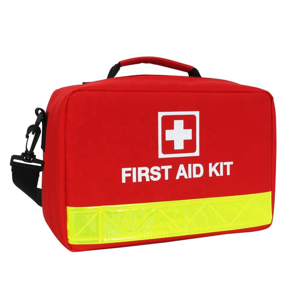 Waterproof Trauma Pet Emergency Survival Cases Medical First-Aid Red Bag Box Car Family Travel Baby Dog Small Home First Aid Kit