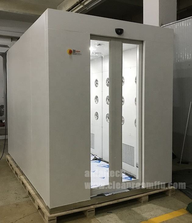 Automatic sliding door clean room Air Shower, personal air shower room