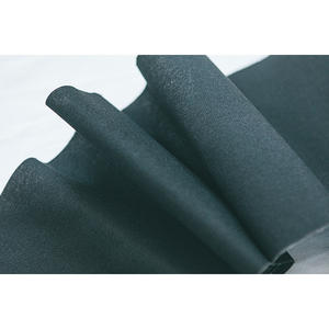 Factory Good price black polyester cotton fabric cloth rolls for hose
