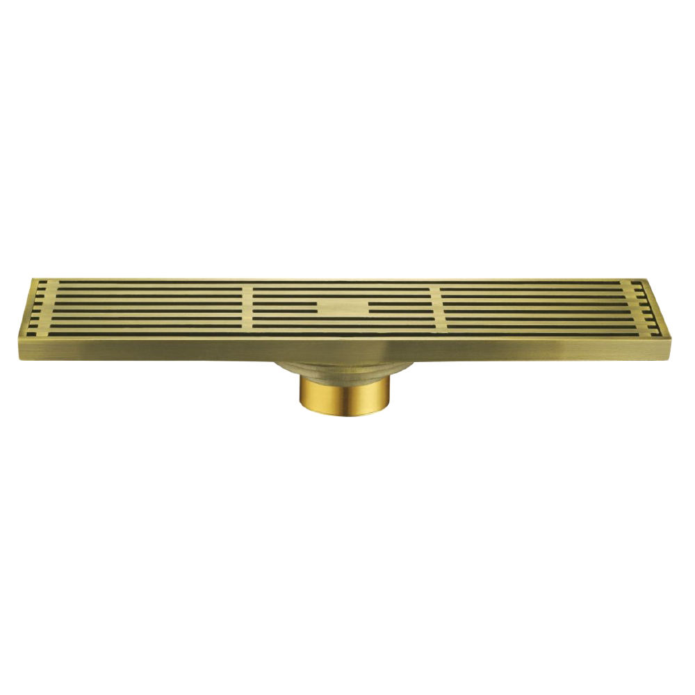 Outdoor channel swimming pool watermark drain grating