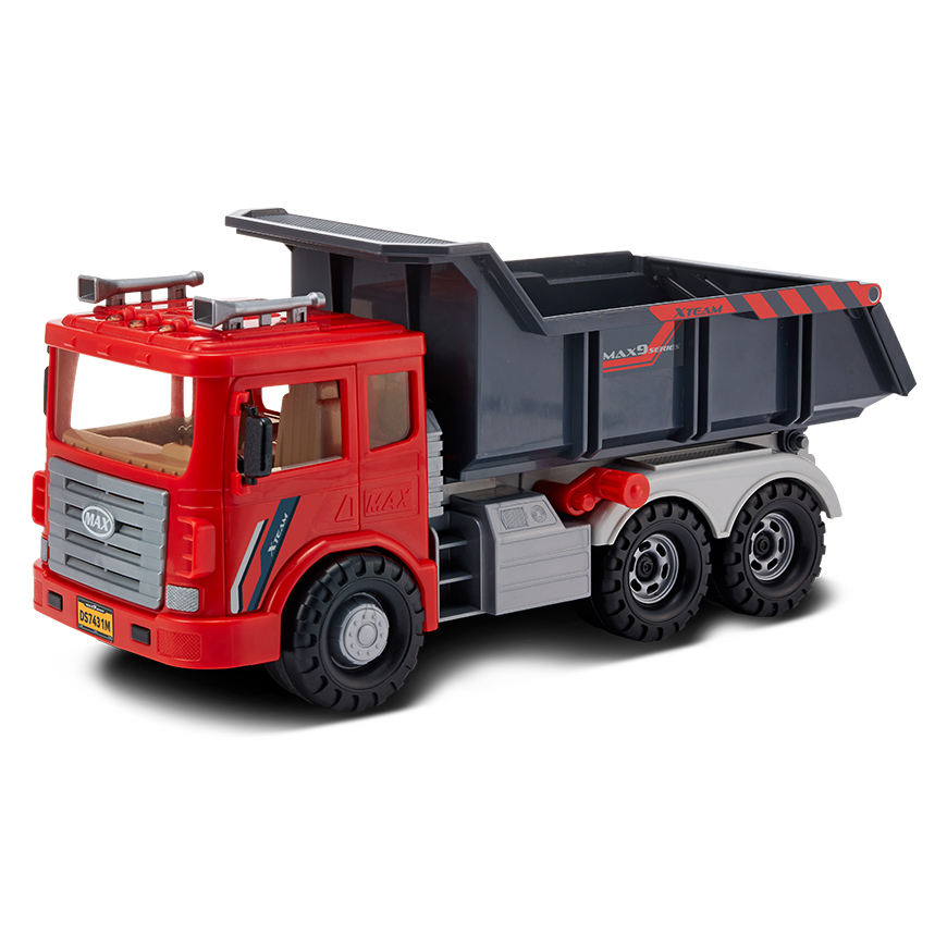 [DS-953-1] ABS Plastic OEM Friction MAX Dump TRUCK Vehicle Friction Toy Made in Korea
