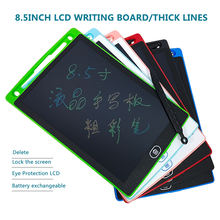 8.5 Inch Rainbow fon Touch LCD Writing Tablet With Stylus Kids Drawing Tablet Electronic color text Notes