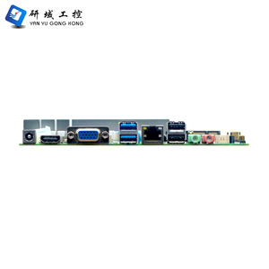 Yanyu new product AMD A6 5345M ultra thin itx mainboard dual channel DDR3 mini embedded industrial pos motherboard with 10 USB
