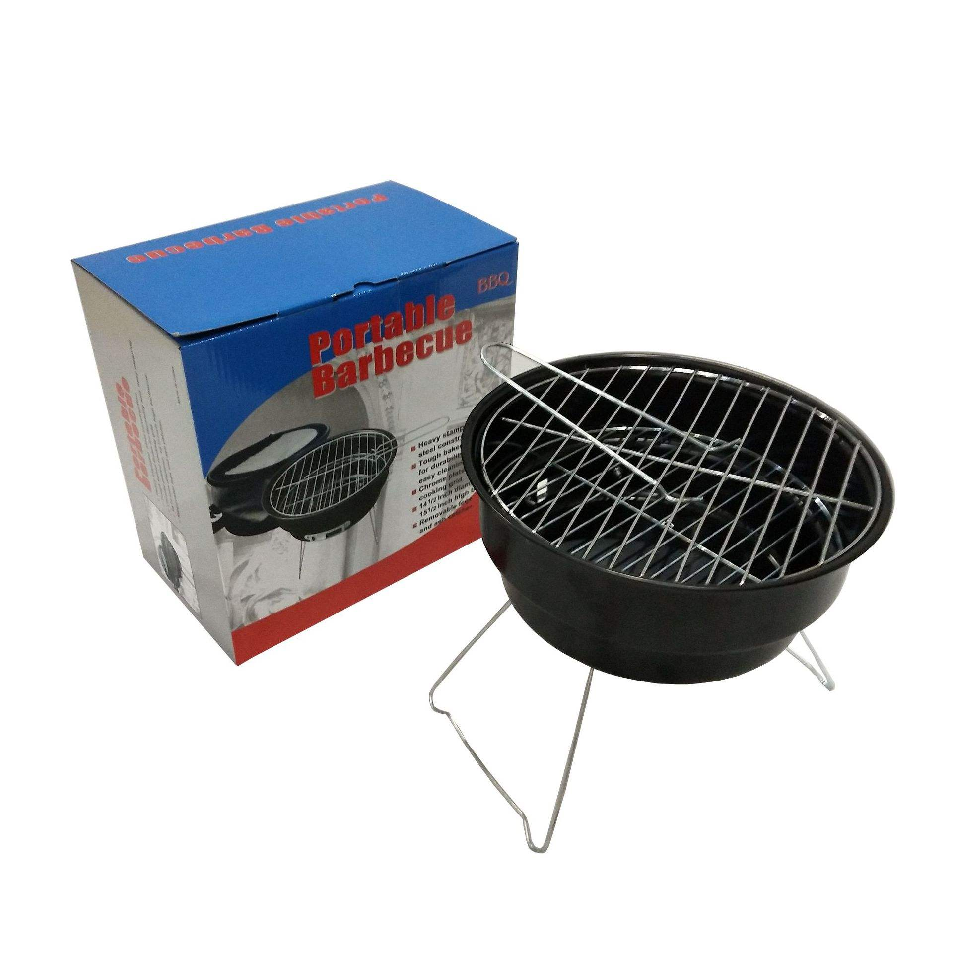 Wholesale garden Portable smokeless BBQ charcoal grill foldable barbecue grill machine, bbq grill light
