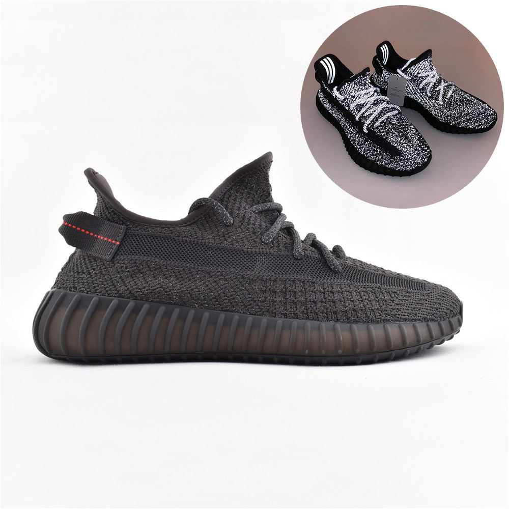 Origin Logo high quality men Fashion Low sneakers kanye west Yeezys 350 V2 Zebra BLUE TINT casual walking shoes size 36-46