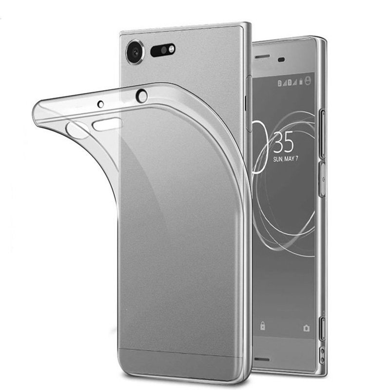 Coque en silicone TPU Transparent, très clair, 1.0mm, 1mm, pour <span class=keywords><strong>Sony</strong></span> Xperia XZ1, XZ Premium, X, XS, 11 Pro Max, 8 Plus