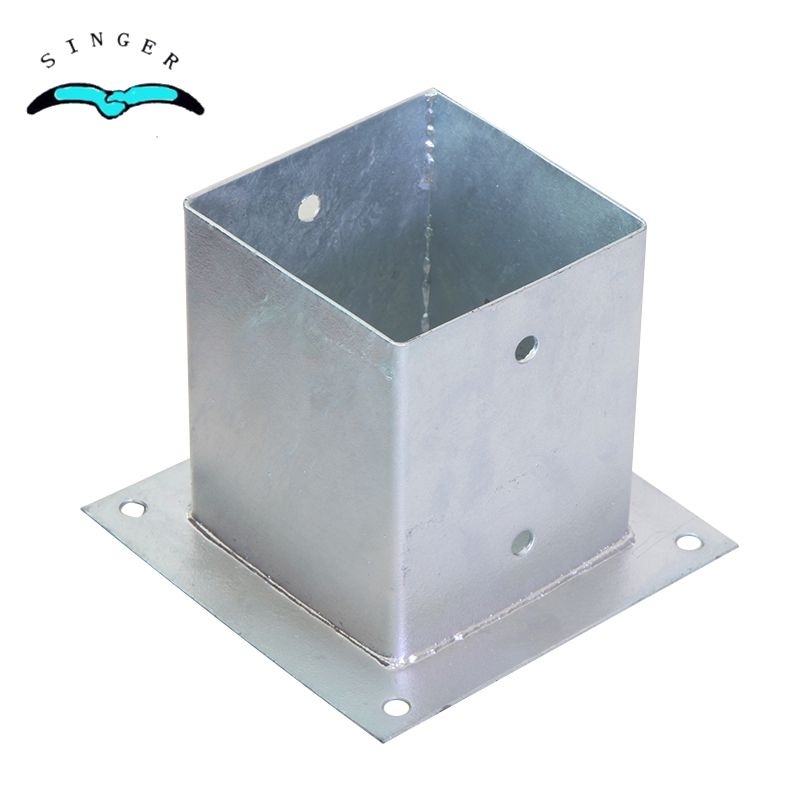 Galvanized Post Anchor Base Plate Bracket