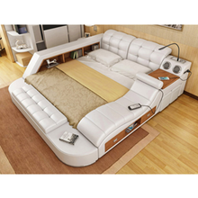 Bedroom furniture/multifunctional bed Modern massager bed