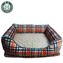 Plaid Winter Warm Pet Mat House For Dogs Fashion Cotton Sleeping Padded Dog Bed Puppy Cat Sofa Cushion