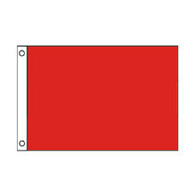Wholesale  100% Polyester Stock 3x5 Ft  Life color red  flag